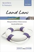 Q and A, Land Law 2007-2008