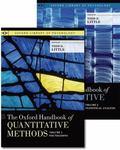 Oxford Handbook of Quantitative Methods, Two-Volume Set