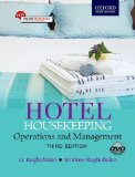 Hotel Housekeeping: Operations and Management 3e (includes DVD)