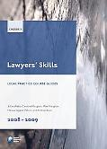 Lawyers Skills 2008-09