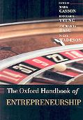 Oxford Handbook of Entrepreneurship
