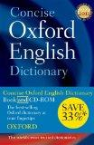 Concise Oxford English Dictionary: Book & CD-ROM Set