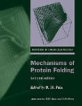 Mechanisms of Protein Folding