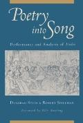 Poetry into Song: Performance and Analysis of Lieder