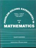 Problem Solving Experiences in Mathematics Grade 4
