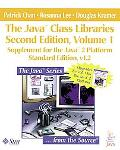 Java Class Libraries Supplement for the Java 2 Platform Standard Edition