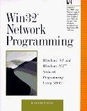 Win32 Network Programming Windows 95 and Windows Nt Network Programming Using Mfc