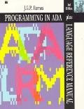 Programming in ADA plus Language Reference Manual - John G. P. Barnes - Paperback