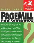 PageMill 2 for Windows : Visual QuickStart Guide - Maria L. Langer - Paperback