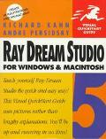 Ray Dream Studio 5 for Windows & MacIntosh: Visual QuickStart Guide - Richard G. Kahn - Pape...