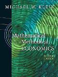 Mathematical Methods for Economics