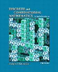 Discrete and Combinatorial Mathematics: An Applied Introduction, Fift