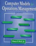 Computer Models for Operations Management
