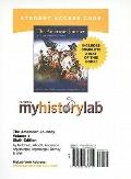 Myhistorylab with Pearson Etext Student Access Code Card for the American Journey
