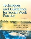 Techniques and Guidelines for Social Work Practice with MySocialWorkLab with eText -- Access...