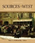 Sources of the West, Volume 2: From 1600 to the Present (8th Edition)