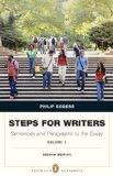 Steps for Writers : Sentence and Paragraph to Essay