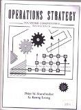 Operations Strategy Focusing Competitive Excellence