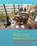 Active Reading Skills: Reading and Critical Thinking in College (with MyReadingLab with Pear...