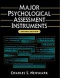 Major Psychological Assessment Instruments