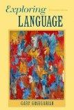 Exploring Language (13th Edition)