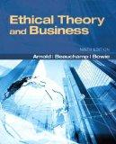 Ethical Theory and Business Plus MySearchLab with Etext