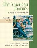 American Journey, The, Concise Edition, Volume 2 with NEW MyHistoryLab and Pearson eText (2n...