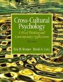 Cross-Cultural Psychology: Critical Thinking and Contemporary Applications (5th Edition)
