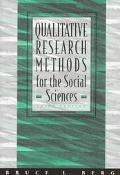 Qualitative Research Methods F/soc.sci.