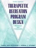 Therapeutic Recreation Program Design Principles and Procedures