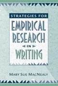 Strategies for Empirical Research in Writing