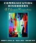 Intro.to Communication Disorders-w/cd