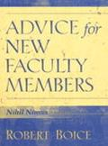 Advice for New Faculty Members Nihil Nimus