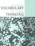 Developing Vocabulary for College Thinking