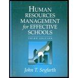 Human Resource Management for Effective Schools (3rd Edition)