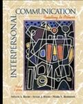 Interpersonal Communication: Relating to Others (with Interactive Companion CD-ROM)