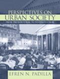 Perspectives on Urban Society From Preindustrial to Postindustrial