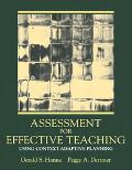 Assessment for Effective Teaching Using Context-Adaptive Planning