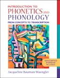 Introduction to Phoenetics And Phonology