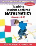 Teaching Student-centered Mathematics Grades K-3