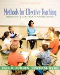 Methods for Effective Teaching Promoting K-12 Student Understanding