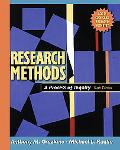 Research Methods A Process of Inquiry