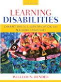 Learning Disabilities Characteristics, Identificati
