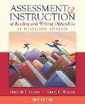 Assessment & Instruction of Reading and Writing Difficulties An Interactive Approach