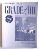 Grade Aid Workbook with Practice Tests for Psychology and Life (all editions)