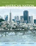 American Nation A History of the United States to 1877
