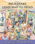 Reading and Learning to Read (Book Alone)