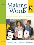 Making Words Kindergarten