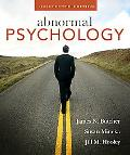 Abnormal Psychology: United States Edition