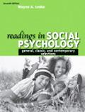 Readings in Social Psychology: General, Classic, and Contemporary Selections (7th Edition)